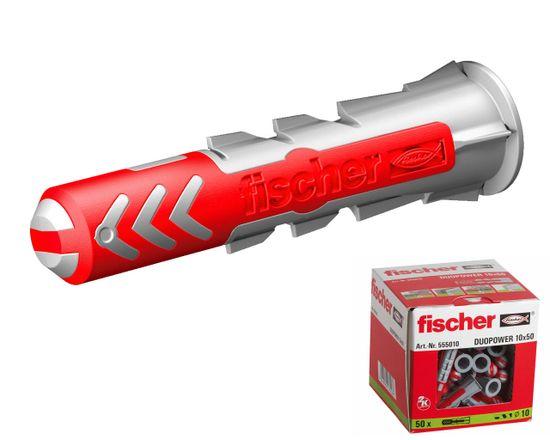 Fischer Hmoždinky DuoPower 10x50 - 50ks