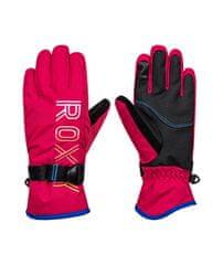 Roxy Dětské zimní rukavice Freshfield Girl G Glov Mzf0 L červená