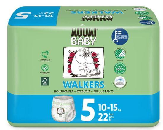 MUUMI BABY pieluchy Walkers 5 Maxi+ (10-15 kg) 22 szt