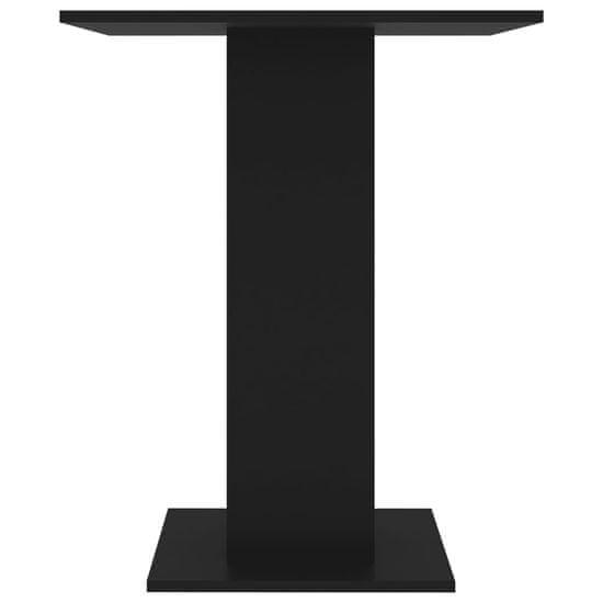 shumee Stolik bistro, czarny, 60x60x75 cm, płyta wiórowa
