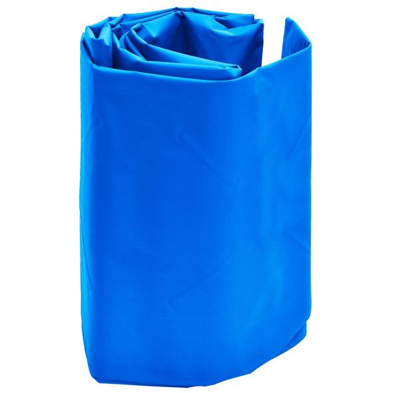 shumee Napihljiva vzmetnica z blazino 58x190 cm modra
