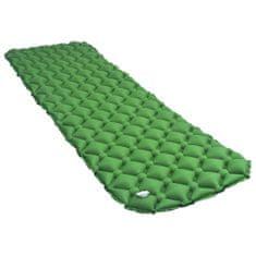 shumee Dmuchany materac, 58x190 cm, zielony
