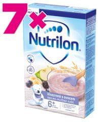 Nutrilon Pronutra Vícezrnná kaše s ovocem 225g, 6+