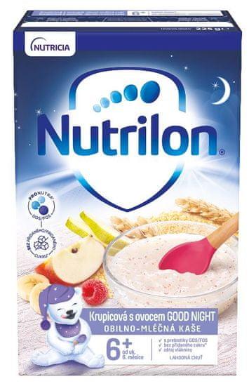 Nutrilon Krupicová kaša s ovocím GOOD NIGHT 225g, 6+