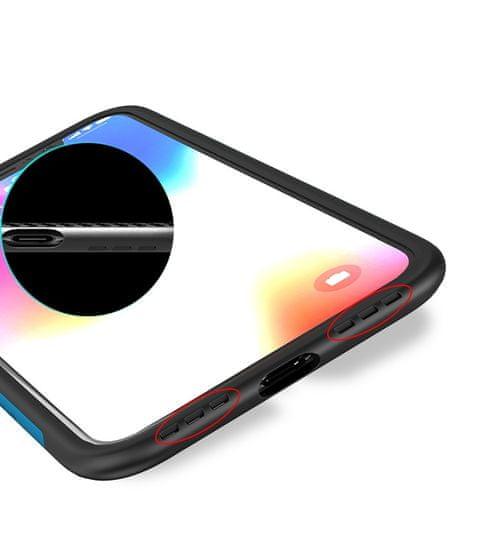 iPaky Bumblebee Neo Hybrid silikonski ovitek za iPhone XS Max, rdeč