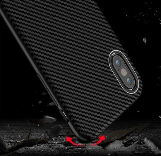 iPaky Bumblebee Neo Hybrid gumené púzdro pre iPhone XS Max, čierne