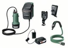 Bosch Aku čerpadlo GardenPump 18 V, set (0.600.8C4.200)