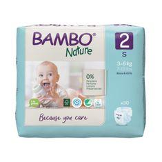 Bambo Nature 2, 30 ks, pro 3-6 kg