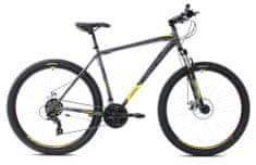 Capriolo MTB Oxygen 29 gorsko kolo, sivo-rumeno