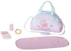 Baby Annabell Torba do przewijania różowo-niebieska