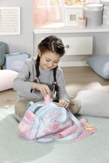 Baby Annabell Přebalovací taška růžovo-modrá