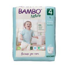 Bambo Nature Pants 4, 20 ks, pro 7-14 kg