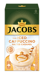 Jacobs Iced Cappuccino Salted Caramel, 8x17,8 g, 142,4 g