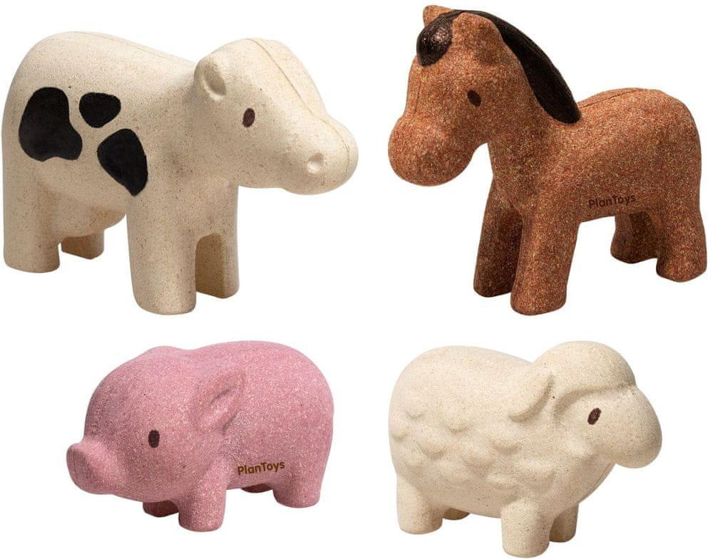 Plan Toys Set - Zvířata z farmy