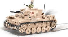 Cobi model 2527 SMALL ARMY II WW Panzer II Ausf. F