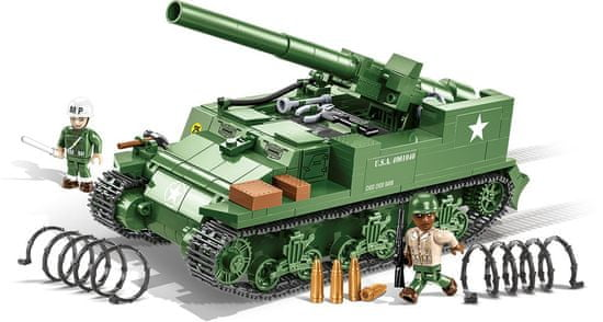 Cobi model 2531 II WW M12 GMC (Gun Motor Carriage)