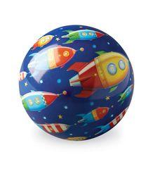 Crocodile Creek Lopta 10 cm - Vesmírny závod / Play Ball 10 cm Space Race