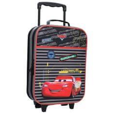 """Vadobag Otroški potovalni kovček na kolesih """"Cars - Go 95"""" - črna"""