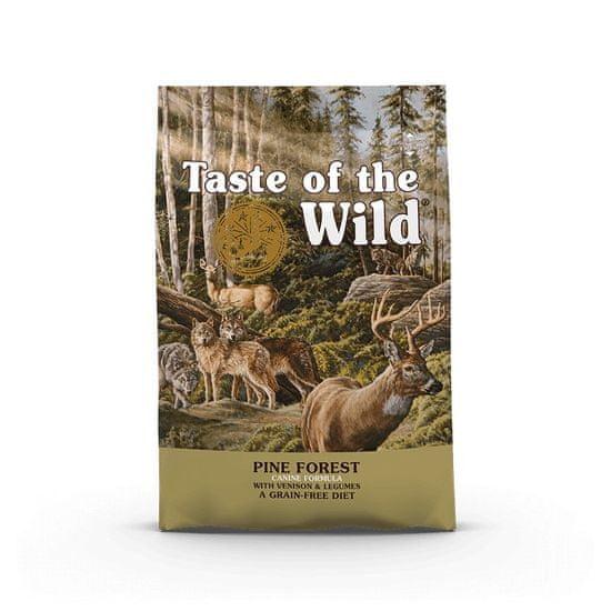Taste of the Wild Pine Forest Canine hrana za odrasle pse, 12,2 kg