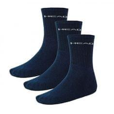 Head 3PACK ponožky navy (751004001 321) - velikost M