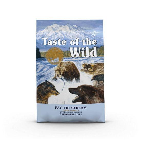 Taste of the Wild Pacific Stream Canine briketi za odrasle pse, 5,6 kg