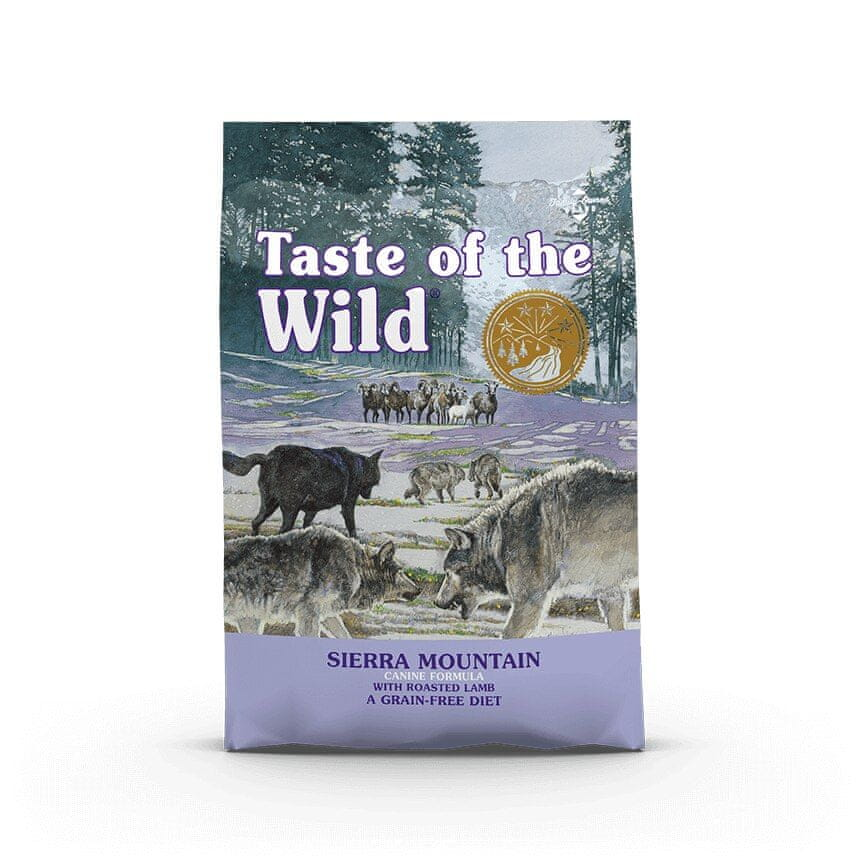 Taste of the Wild Sierra Mountain Canine 5,6 kg