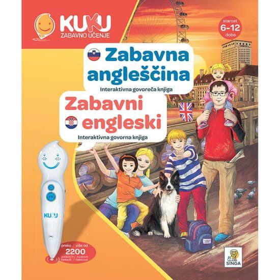 Kuku Zabavno Učenje knjiga Zabavna angleščina, interaktivna