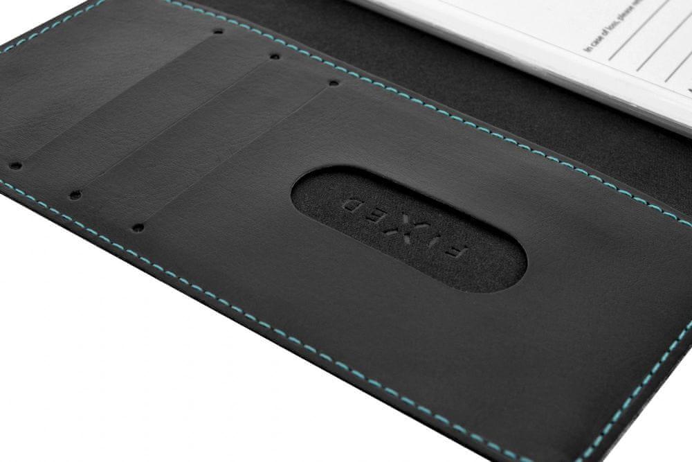 FIXED Pouzdro typu kniha Opus pro Huawei P40 Lite FIXOP-505-BK, černé