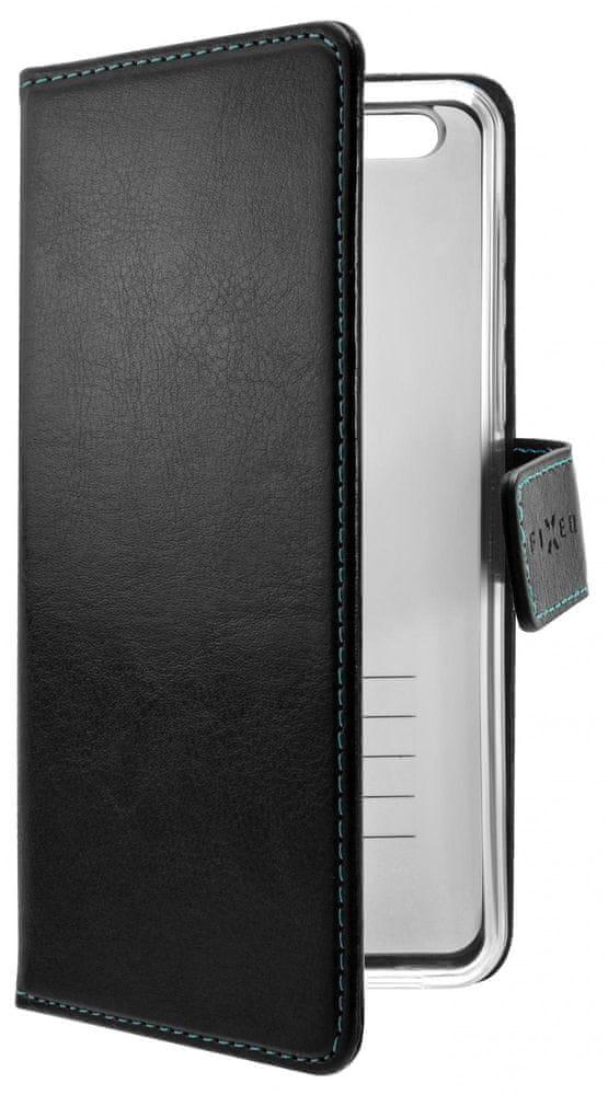 FIXED Pouzdro typu kniha Opus pro Huawei P40 FIXOP-503-BK, černé