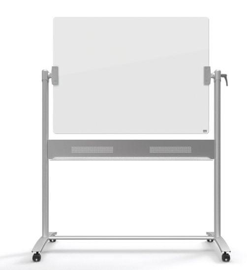 Nobo magnetna mobilna tabla, steklena, bela, 90x120 cm (1903943)