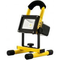 Avide LED akumulatorski delovni reflektor s stojalom IP65 10W nevtralno bel 4000K