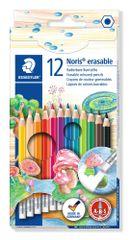 Staedtler barvice z radirko Noris Club ABS 12/1