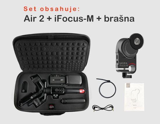 MOZA AIR 2 stabilizátor kamery-gimbal + iFocus motor