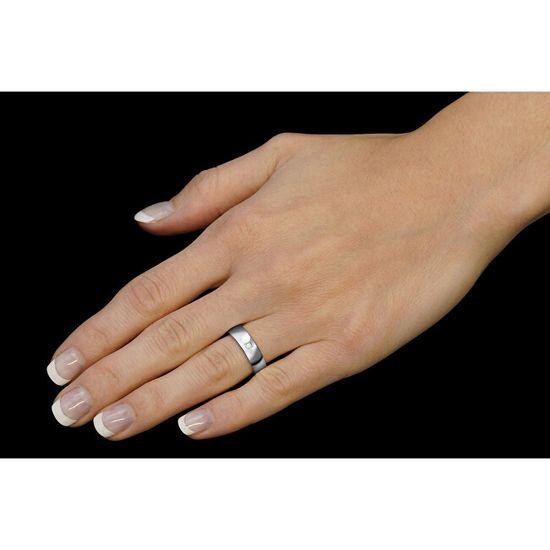 Silvego Ślub Srebrny pierścionek Poesia dla kobiet QRG4104W srebro 925/1000