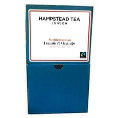 Hampstead Tea London BIO černý čaj Darjeeling citron pomeranč 250ks