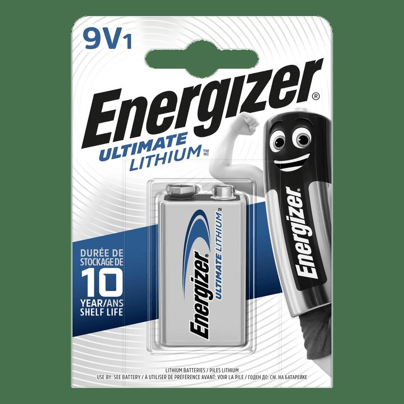 Energizer Baterie 9V Energizer LITHIUM 1ks (blistr)