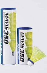 Yonex Mavis 350 badminton žogica, 3/1, rumena, srednja