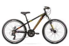 Romet Rambler Dirt 24 gorsko kolo, črno-oranžno