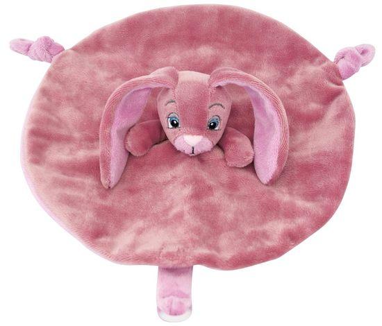 My Teddy Dárkový set - můj malý zajíček a muchláček růžový