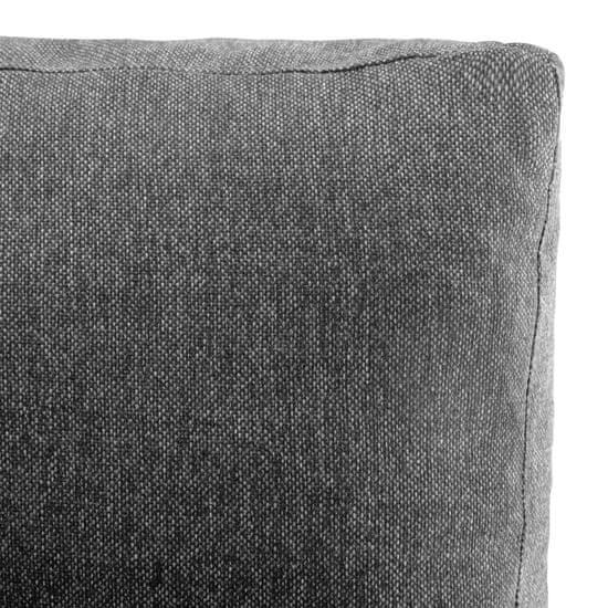 shumee Sekcijski kavč iz umetnega usnja bel