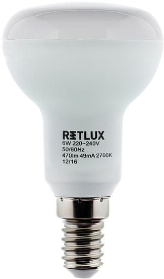 Retlux RLL 306 R50 E14 Spot 9W WW