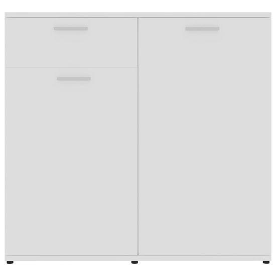 shumee Szafka na wysoki połysk, biała, 80x36x75 cm, płyta wiórowa
