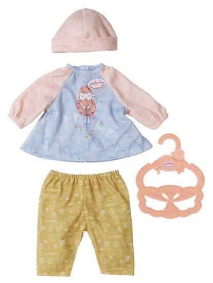 Baby Annabell Little Baby oblečení na ven, šatičky a kalhoty, 36 cm