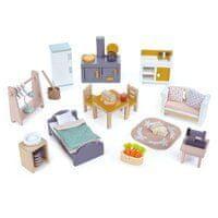 Tender Leaf Toys Nábytek pro panenky - Městský dům