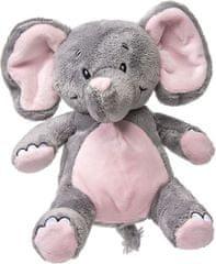 My Teddy Môj prvý slon plyšák - ružová