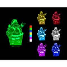 Sharks 3D LED lámpa - Mikulás