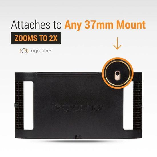 iOgrapher iOgrapher 37mm 2X Tele Lens