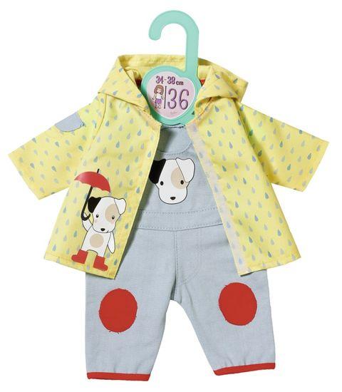 Zapf Creation Dolly modna oblačila za dež, 36 cm