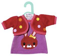 Zapf Creation Dolly Moda Oblečení s pletenou bundičkou, 36 cm