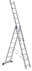 ALUMET Univerzálny trojdielny rebrík 3 × 8 (H3 5308)